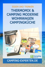 Thermomix & Camping moderne Wohnwagen Campingküche