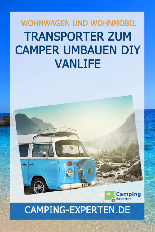Transporter zum Camper umbauen DIY Vanlife