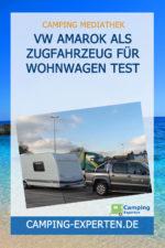 VW Amarok als Zugfahrzeug für Wohnwagen Test