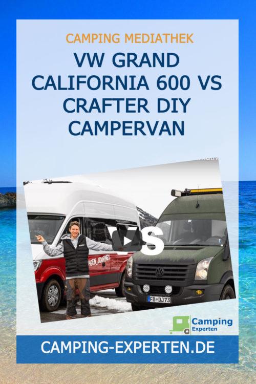 VW Grand California 600 vs Crafter DIY Campervan