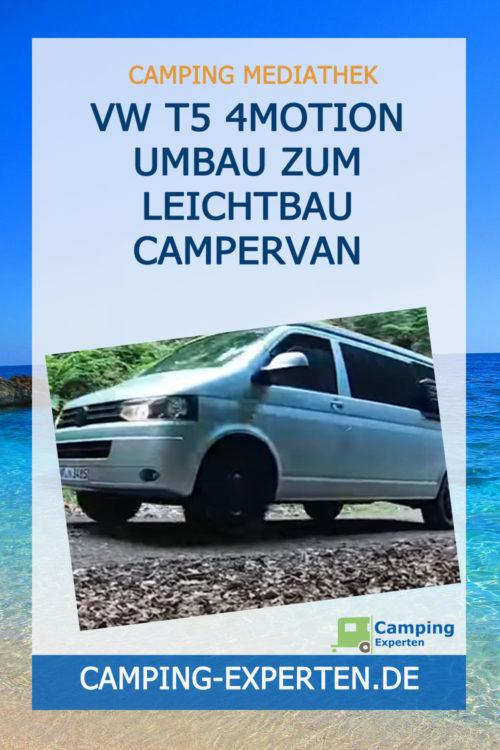 VW T5 4Motion Umbau zum Leichtbau Campervan