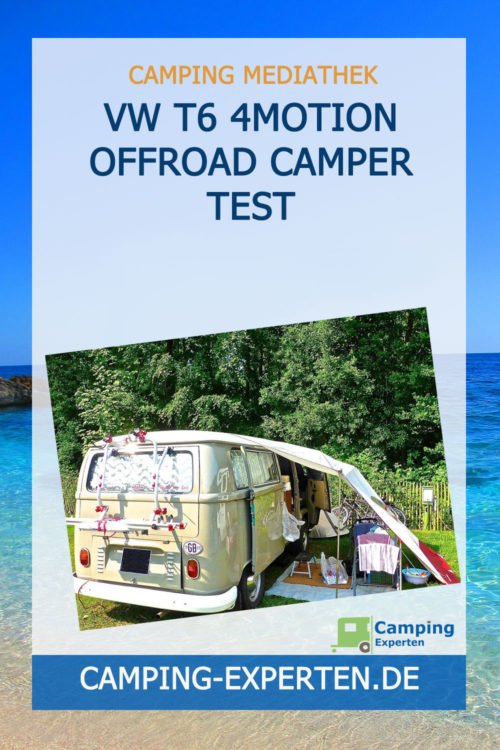 VW T6 4motion Offroad Camper Test