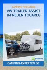 VW Trailer Assist im neuen Touareg
