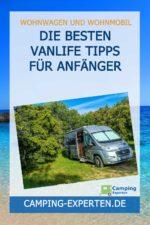 Die besten Vanlife Tipps für Anfänger