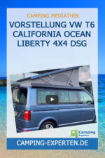 Vorstellung VW T6 California Ocean Liberty 4x4 DSG