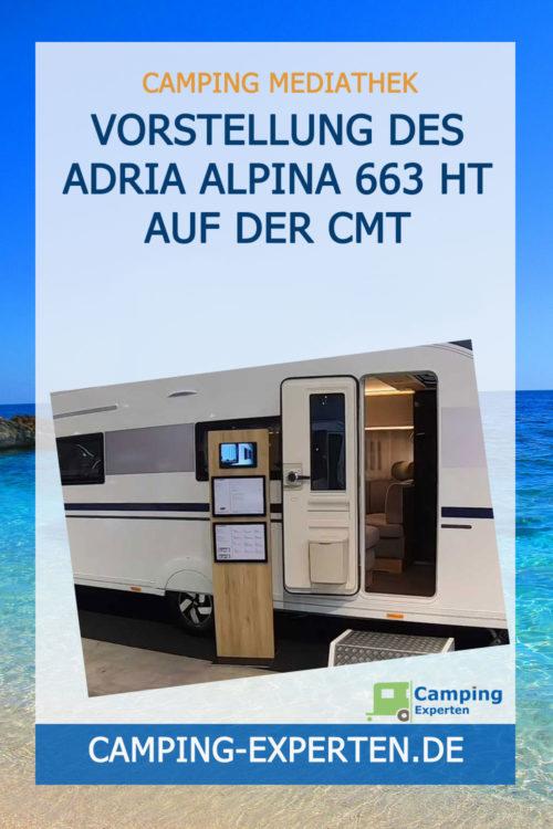 Vorstellung des Adria Alpina 663 HT auf der CMT