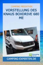 Vorstellung des Knaus Boxdrive 680 ME