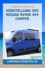Vorstellung des Nissan NV400 4x4 Camper