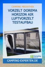 Vorzelt Dorema Horizon Air Luftvorzelt Testaufbau