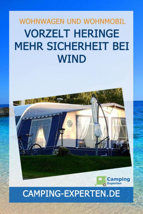 Vorzelt Heringe Mehr Sicherheit bei Wind