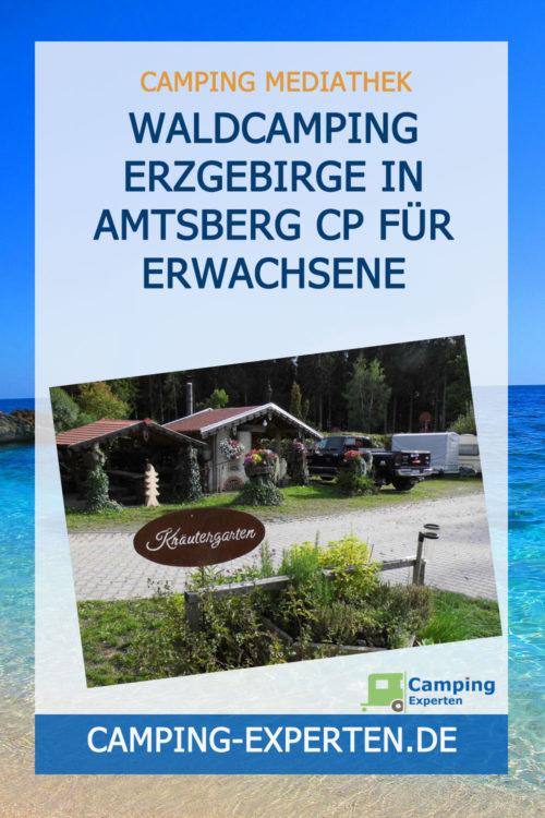 Waldcamping Erzgebirge in Amtsberg CP für Erwachsene