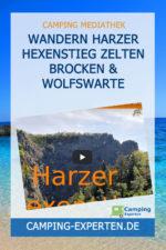 Wandern Harzer Hexenstieg Zelten Brocken & Wolfswarte