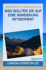 Was sollten Sie auf eine Wanderung mitnehmen?