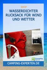 Wasserdichter Rucksack für Wind und Wetter