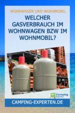 Welcher Gasverbrauch im Wohnwagen bzw im Wohnmobil?