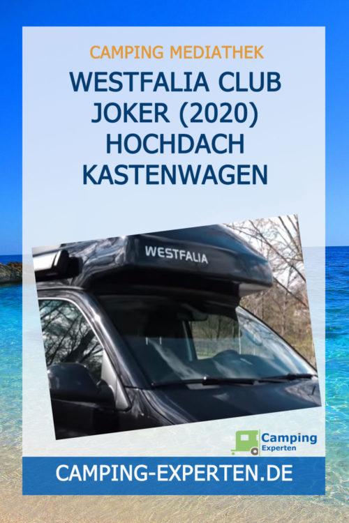 Westfalia Club Joker (2020) Hochdach Kastenwagen Review