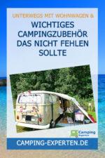 Wichtiges Campingzubehör