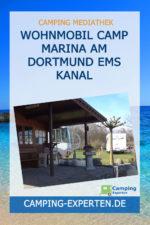 Wohnmobil Camp Marina am Dortmund Ems Kanal
