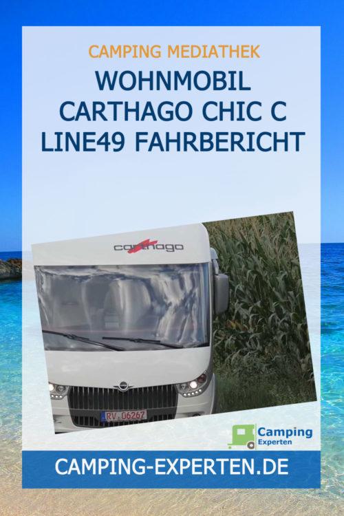 Wohnmobil Carthago Chic C Line49 Fahrbericht