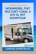 Wohnmobil Fiat Multijet Coral S 670 SL mit Roomtour