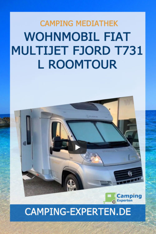 Wohnmobil Fiat Multijet Fjord T731 L Roomtour