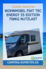 Wohnmobil Fiat Tec Energy 55 Edition 708kg Nutzlast