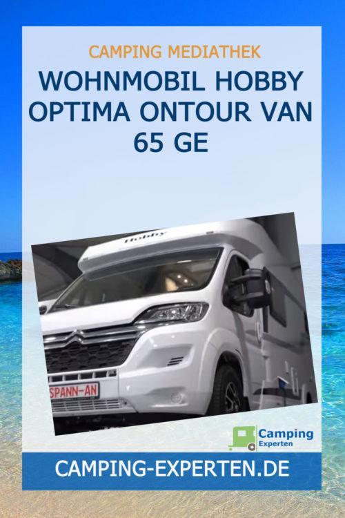 Wohnmobil Hobby Optima Ontour Van 65 GE