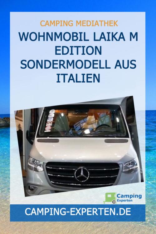 Wohnmobil Laika M Edition Sondermodell aus Italien