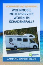 Wohnmobil Motorservice wohin im Schadensfall?
