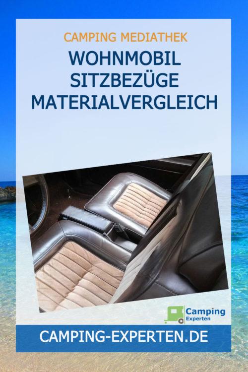 Wohnmobil Sitzbezüge Materialvergleich