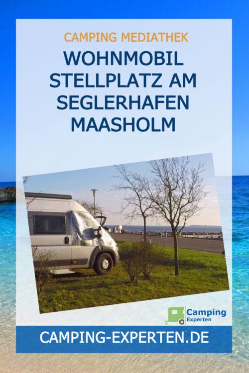 Wohnmobil Stellplatz Am Seglerhafen Maasholm