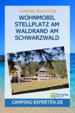 Wohnmobil Stellplatz Am Waldrand am Schwarzwald