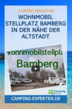 Wohnmobil Stellplatz Bamberg in der Nähe der Altstadt
