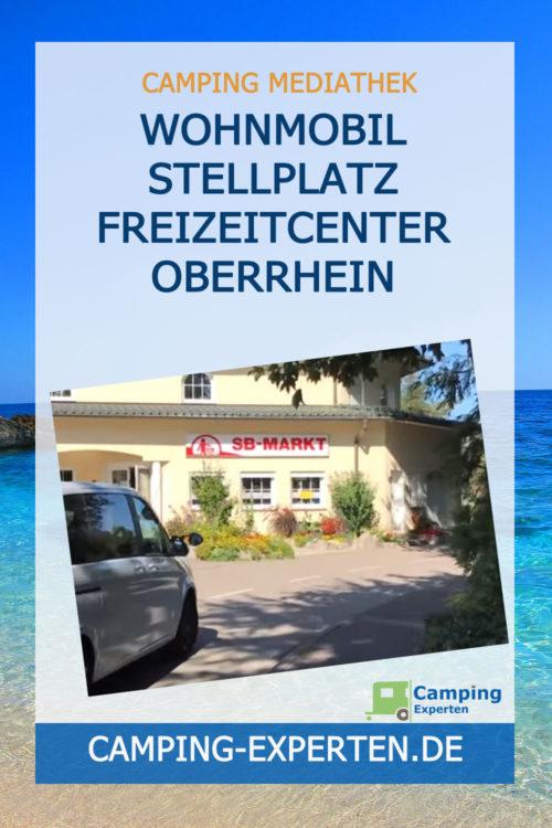 Wohnmobil Stellplatz Freizeitcenter Oberrhein