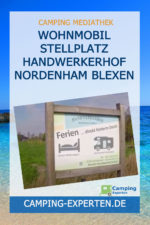 Wohnmobil Stellplatz Handwerkerhof Nordenham Blexen