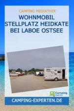 Wohnmobil Stellplatz Heidkate bei Laboe Ostsee