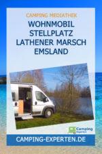 Wohnmobil Stellplatz Lathener Marsch Emsland
