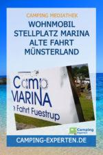 Wohnmobil Stellplatz Marina Alte Fahrt Münsterland