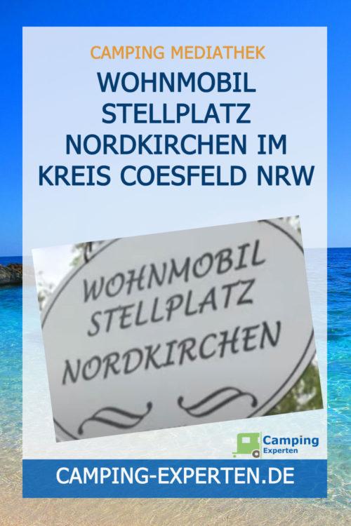 Wohnmobil Stellplatz Nordkirchen im Kreis Coesfeld NRW