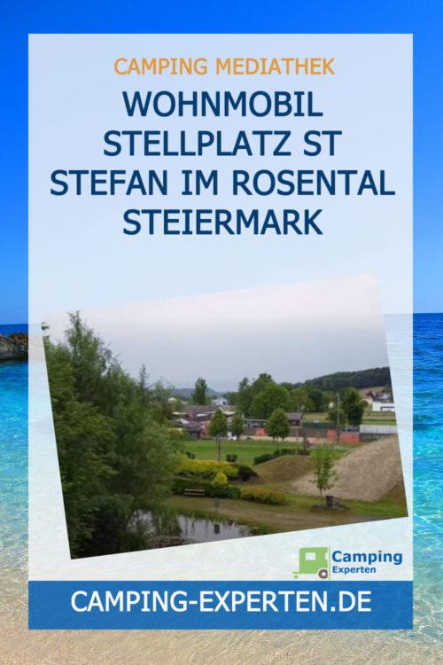 Wohnmobil Stellplatz St Stefan im Rosental Steiermark