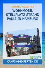 Wohnmobil Stellplatz Strand Pauli in Hamburg
