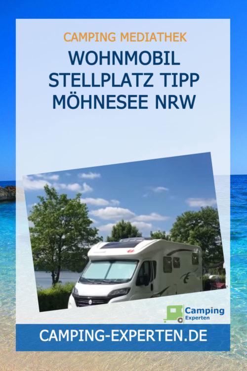 Wohnmobil Stellplatz Tipp Möhnesee NRW