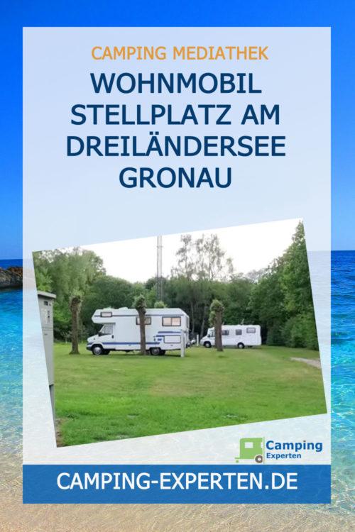 Wohnmobil Stellplatz am Dreiländersee Gronau