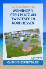 Wohnmobil Stellplatz am Twistesee in Nordhessen