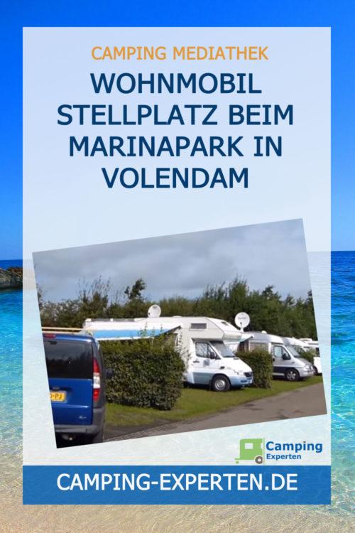 Wohnmobil Stellplatz beim Marinapark in VOLENDAM