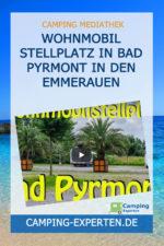 Wohnmobil Stellplatz in Bad Pyrmont in den Emmerauen