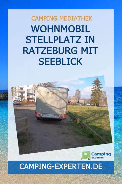 Wohnmobil Stellplatz in Ratzeburg mit Seeblick