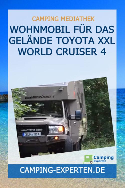 Wohnmobil für das Gelände Toyota XXL World Cruiser 4
