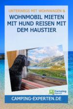 Wohnmobil mieten mit Hund Reisen mit dem Haustier