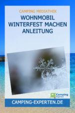 Wohnmobil winterfest machen Anleitung